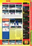 Scan of the review of NHL Breakaway 98 published in the magazine Gameplay 64 05, page 2