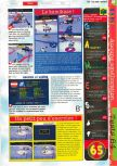Scan of the review of Olympic Hockey Nagano '98 published in the magazine Gameplay 64 05