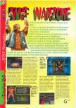 Scan of the review of WWF War Zone published in the magazine Gameplay 64 08