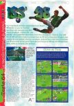 Scan of the review of International Superstar Soccer 98 published in the magazine Gameplay 64 08