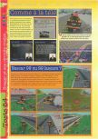 Scan of the review of NASCAR '99 published in the magazine Gameplay 64 09, page 3