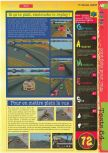 Scan of the review of NASCAR '99 published in the magazine Gameplay 64 09, page 4