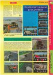 Scan of the review of NASCAR '99 published in the magazine Gameplay 64 09, page 2
