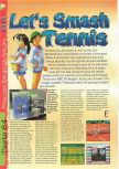Scan du test de Centre Court Tennis paru dans le magazine Gameplay 64 n� 10
