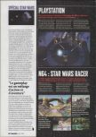 Scan of the preview of Star Wars: Episode I: Racer published in the magazine Game On 01