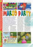 Scan of the review of Mario Party published in the magazine Gameplay 64 12, page 1