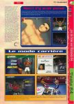 Scan of the review of Knockout Kings 2000 published in the magazine Gameplay 64 19