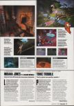 Scan of the preview of Tonic Trouble published in the magazine Game On 03