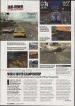 Scan of the preview of World Driver Championship published in the magazine Game On 03