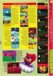 Scan of the review of Diddy Kong Racing published in the magazine Gameplay 64 04, page 4