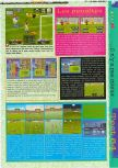 Scan of the review of International Superstar Soccer 64 published in the magazine Gameplay 64 01, page 2
