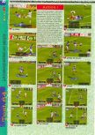 Scan of the review of International Superstar Soccer 64 published in the magazine Gameplay 64 01, page 3