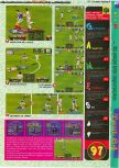 Scan of the review of International Superstar Soccer 64 published in the magazine Gameplay 64 01, page 4