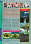 Scan of the review of Pilotwings 64 published in the magazine Gameplay 64 01