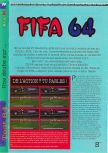 Scan of the review of FIFA 64 published in the magazine Gameplay 64 01