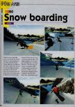 Scan of the preview of 1080 Snowboarding published in the magazine Consoles News 18