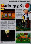 Scan of the preview of Paper Mario published in the magazine Consoles News 18