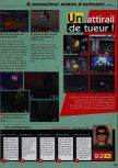 Scan of the review of Duke Nukem 64 published in the magazine Consoles News 18