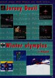 Scan of the preview of Nagano Winter Olympics 98 published in the magazine Consoles News 14