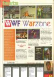 Scan of the review of WWF War Zone published in the magazine Consoles News 25