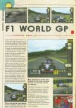 Scan of the review of F-1 World Grand Prix published in the magazine Consoles News 25