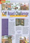 Scan of the review of Off Road Challenge published in the magazine Consoles News 25
