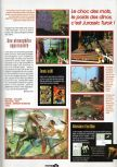 Scan of the preview of Turok: Dinosaur Hunter published in the magazine Joypad 057