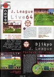 Scan of the preview of FIFA 64 published in the magazine Joypad 057