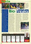Scan of the review of Bio F.R.E.A.K.S. published in the magazine Consoles News 24