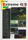 Scan of the preview of Extreme-G published in the magazine Consoles News 24