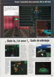 Scan of the preview of Hybrid Heaven published in the magazine Consoles News 24, page 2