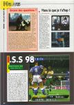 Scan of the preview of International Superstar Soccer 98 published in the magazine Consoles News 24