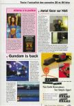 Scan of the preview of Operation WinBack published in the magazine Consoles News 24
