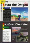 Scan of the preview of Top Gear OverDrive published in the magazine Consoles News 24