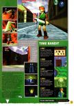 Scan of the preview of The Legend Of Zelda: Ocarina Of Time published in the magazine N64 01