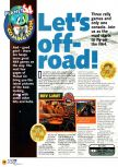 Scan of the preview of Rev Limit published in the magazine N64 01
