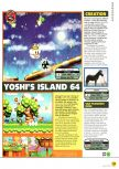 Scan of the preview of Yoshi's Story published in the magazine N64 01