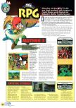 Scan of the preview of Earthbound 64 published in the magazine N64 01
