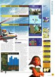 Scan of the review of Pilotwings 64 published in the magazine N64 01