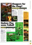 Scan de la preview de J-League Eleven Beat paru dans le magazine N64 03