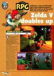 Scan of the preview of The Legend Of Zelda: Ocarina Of Time published in the magazine N64 03