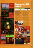 Scan of the preview of Mystical Ninja Starring Goemon published in the magazine N64 03