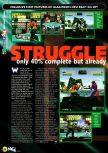 Scan of the preview of Fighters Destiny published in the magazine N64 04