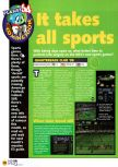 Scan of the preview of NFL Quarterback Club '98 published in the magazine N64 04