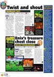Scan of the preview of Chameleon Twist published in the magazine N64 04