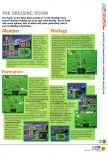 Scan of the walkthrough of International Superstar Soccer 64 published in the magazine N64 04, page 2