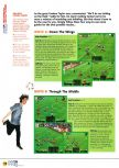 Scan of the walkthrough of International Superstar Soccer 64 published in the magazine N64 04, page 5