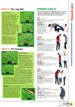 Scan of the walkthrough of International Superstar Soccer 64 published in the magazine N64 04, page 6
