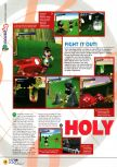 Scan of the preview of Holy Magic Century published in the magazine N64 04