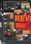 Scan of the preview of Rev Limit published in the magazine N64 06